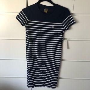 Polo Ralph Lauren navy dress size Xs
